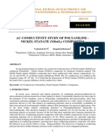 Ac Conductivity Study of Polyaniline Nckelstanate Nisno3 Composites