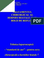 TRATAMENTUL CHIRURGICAL AL HERNIEI HIATALE