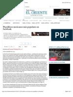 26-11-14 50 políticos mexicanos más populares en Facebook | El Oriente