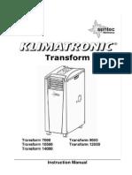 Bedienungsanleitung Transform GB 2012