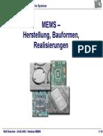MEMS Uni Heidelberg