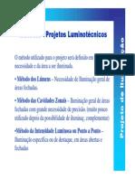 Projetos Luminotécnicos