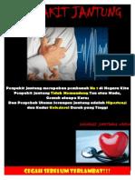 Poster Menjaga Kesehatan jantung