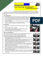 Steering Techniques