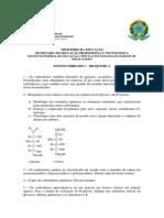 Estudo Dirigido 1 - Bqi