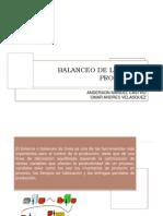 Balanceo Lineas de Produccion