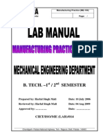 Lab Manual Workshop