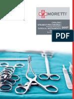 Catalogo strumenti chirurgici