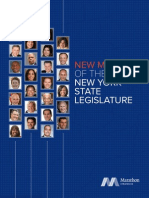 Marathon Strategies New Members of the New York State Legislature 12.8.14