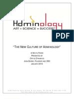 Adminology White Paper