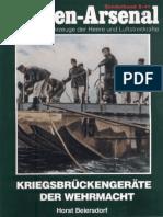 Waffen Arsenal 41 Kriegsbrückengerät Der Wehrmacht