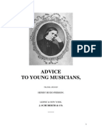 Rules for Young Musicians Robert Schumanna (London)