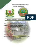 Informe de La Practica de Minerales y Rocas