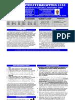 Registration Form Brochure 2010