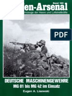 Waffen Arsenal 180 Deutsche Maschinengewehre Mg 01 Bis Mg 42