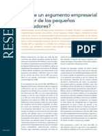 CGAP Brief is There a Business Case for Small Savers Jan 2011 Spanish