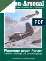 Waffen Arsenal 16 Flugzeuge Gegen Panzer Deutsche Panzerjager Und Schlachtflugzeuge