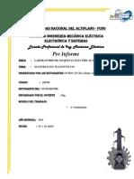 Materiales Magneticos_pre Informe 01