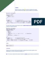 27  PROGRAMACION EN LENGUAJE C++