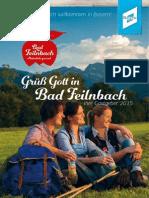 Gastgeberverzeichnis Bad Feilnbach 2015