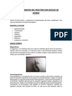 Pre Informe Comportamiento Del Reactor Con Núcleo de Hierro