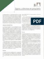 Signos y Sintomas en Psiquiatria. Kaplan & Sadok. Sinopsis en Psiquiatra. 10 Edicin. 2009