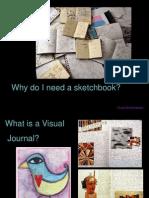 visual journal sketchbook