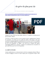 Le Monde 20.09.2014 Une Semaine de Grève de Plus Pour Air France
