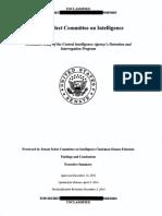 Senate Report on CIA Practices