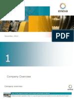 ENEVA Corporate Presentation ? December 2014