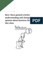 reflection presentation maria gonzalez
