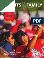University of Arizona Parents & Family Magazine Fall 2014