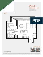 Aperture Vancouver Presale Condo Floor Plan B Mike Stewart