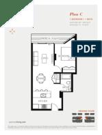 Aperture Vancouver Presale Condo Floor Plan C Mike Stewart