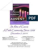 St. Rita Parish Bulletin 12/7/2014
