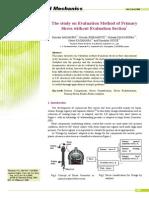 Journal of Solid Mechanics