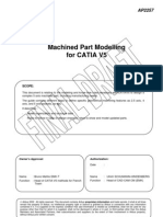 AIRBUS Machined Part Modelling for CATIA