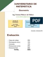 Geometria (PREUMATE, Nov-Dic 2014)