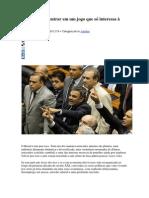 Dilma Não Vai Entrar Em Um Jogo Que Só Interessa à Direita