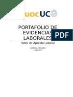 Portafolio de Evidencias Laborales