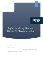 diode iv report
