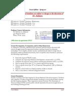 UT Dallas Syllabus for ed4696.002.10s taught by Barbara Ashmore (baa067000)