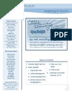 Newsletter - January 10, 2010