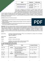 UT Dallas Syllabus for biol5430.001 06s taught by Tianbing Xia (txx051000)