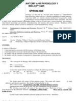 UT Dallas Syllabus for biol3455.501 06s taught by John Moltz (jmoltz)
