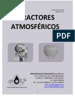 Catálogo Extractores Atmosféricos