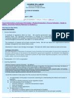 UT Dallas Syllabus for ba4309.521 06u taught by Peter Lewin (plewin)
