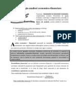 Tipologia analizei economico