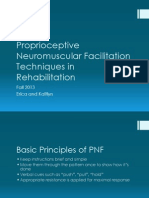 proprioceptive neuromuscular facilitation techniques in rehabilitation