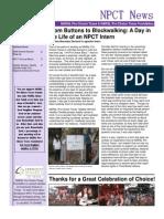 Fall Winter 2008 Newsletter